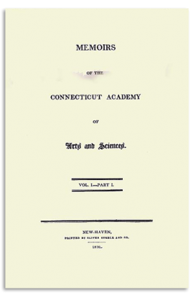 Memoirs of the Connecticut Academy of Arts and Sciences, Vol. I--Part I.